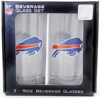 15 Oz NFL / Buffalo Bills 2pk Beverage Tumbler (Boelter)