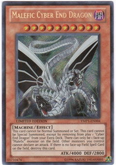 Yu-Gi-Oh Bonds Beyond Time Single Malefic Cyber End Dragon Secret Rare