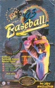 1995 Topps Stadium Club Series 1 Baseball Hobby Box