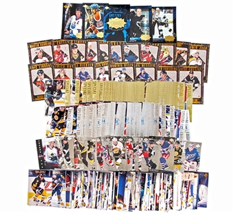 1995/96 Upper Deck Series 1 Hockey Complete Master Set with Inserts