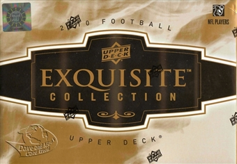 2010 Upper Deck Exquisite Football Hobby Box