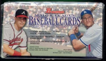 1995 Bowman Baseball Jumbo Box