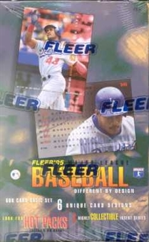 1995 Fleer Series 1 Baseball Hobby Box
