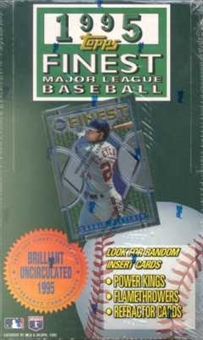 1995 Topps Finest Series 1 Baseball Hobby Box