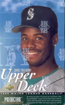 1995 Upper Deck Series 2 Baseball Hobby Box