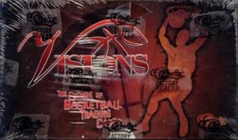 1995 Classic Visions Basketball Hobby Box