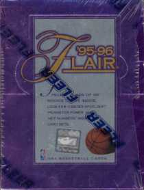 1995/96 Flair Series 1 Basketball Hobby Box