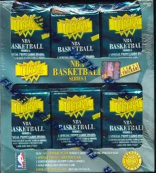 1995/96 Fleer Ultra Series 1 Basketball Jumbo Box