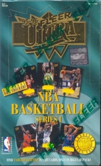 1995/96 Fleer Ultra Series 1 Basketball Hobby Box