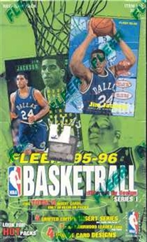 1995/96 Fleer Series 1 Basketball Hobby Box