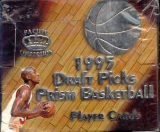 1995/96 Pacific Prism Draft Picks Basketball Hobby Box