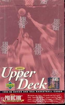 1995/96 Upper Deck Series 1 Basketball Hobby Box