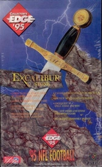 1995 Collector's Edge Excalibur Series 2 Football Hobby Box