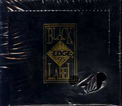 1995 Collector's Edge Black Label Football Hobby Box