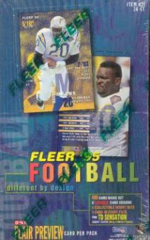 1995 Fleer Football 36 Pack Box