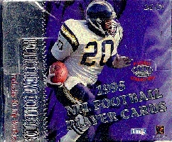 1995 Pacific Football Hobby Box