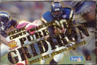 1995 Pacific Gridiron Football Hobby Box