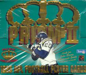 1995 Pacific Prism Series 2 Football Hobby Box