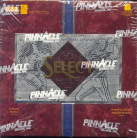 1995 Pinnacle Select Certified Football Hobby Box