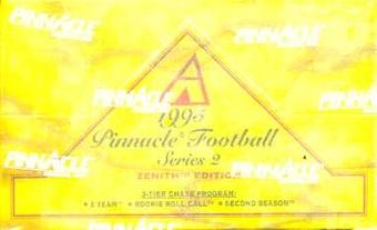 1995 Pinnacle Zenith Series 2 Football Hobby Box