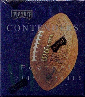 1995 Playoff Contenders Football Hobby Box