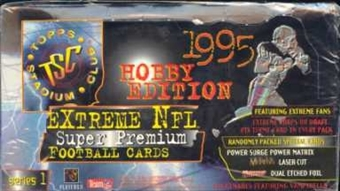 1995 Topps Stadium Club Series 1 Football Jumbo Box