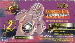 1995 Topps Stadium Club Series 2 Football Jumbo Box