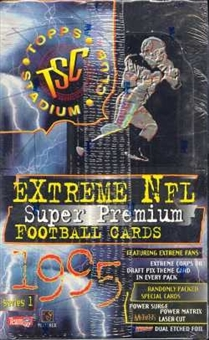 1995 Topps Stadium Club Series 1 Football Hobby Box