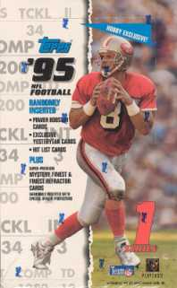1995 Topps Series 1 Football Hobby Box