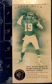 1995 Upper Deck SP Championship Football Hobby Box