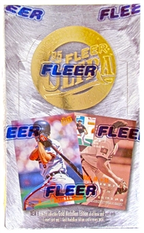 1995 Fleer Ultra Series 2 Baseball Hobby Box