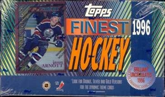 1995/96 Topps Finest Hockey Hobby Box