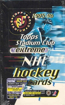 1995/96 Topps Stadium Club Hockey Hobby Box