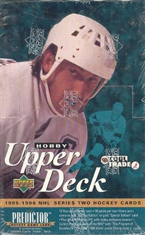 1995/96 Upper Deck Series 2 Hockey Hobby Box