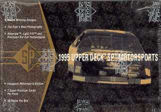 1995 Upper Deck SP Motorsports Racing Hobby Box