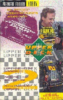 1995 Upper Deck Series 2 Racing Hobby Box