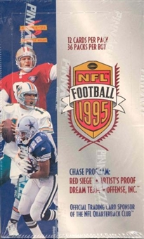 1995 Score Football 36 Pack Box
