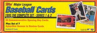 1995 Topps Baseball Retail Factory Set (box) (Yellow/Orange)