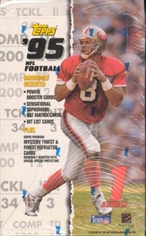 1995 Topps Series 1 Football 36 Pack Box