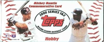 1996 Topps Baseball Hobby Factory Set (White Box)