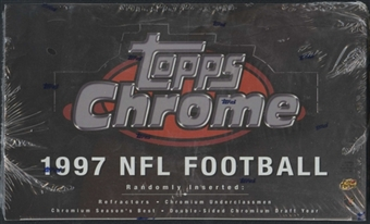 1997 Topps Chrome Football 24-Pack Box