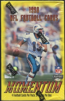1998 Playoff Momentum Football 24-Pack Box