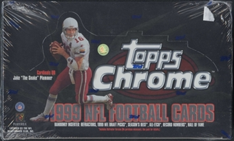 1999 Topps Chrome Football 24-Pack Box