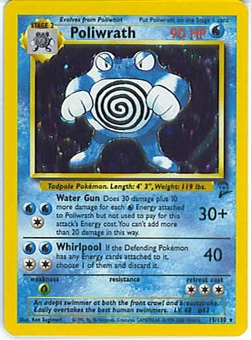 Pokemon Base Set 2 Single Poliwrath 15/130