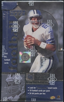 1997 Upper Deck Football 36-Pack Box