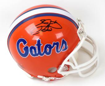 Emmitt Smith Autographed University of Florida Gators Mini Helmet (Emmitt Smith Hologram)