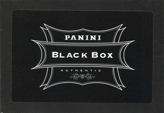 2012 Panini National Sports Convention (VIP Party Exclusive) Black Box