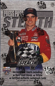 1998 Press Pass Stealth Racing Hobby Box