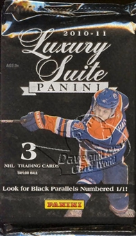 2010/11 Panini Luxury Suite Hockey Hobby Pack
