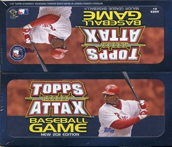 2011 Topps Attax Baseball Game Booster Box